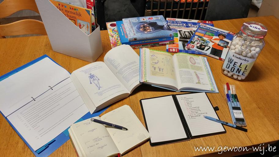 Thuisonderwijsdagboek – week 1