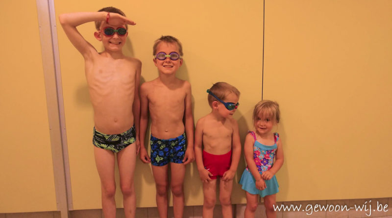 Leren zwemmen in 10x