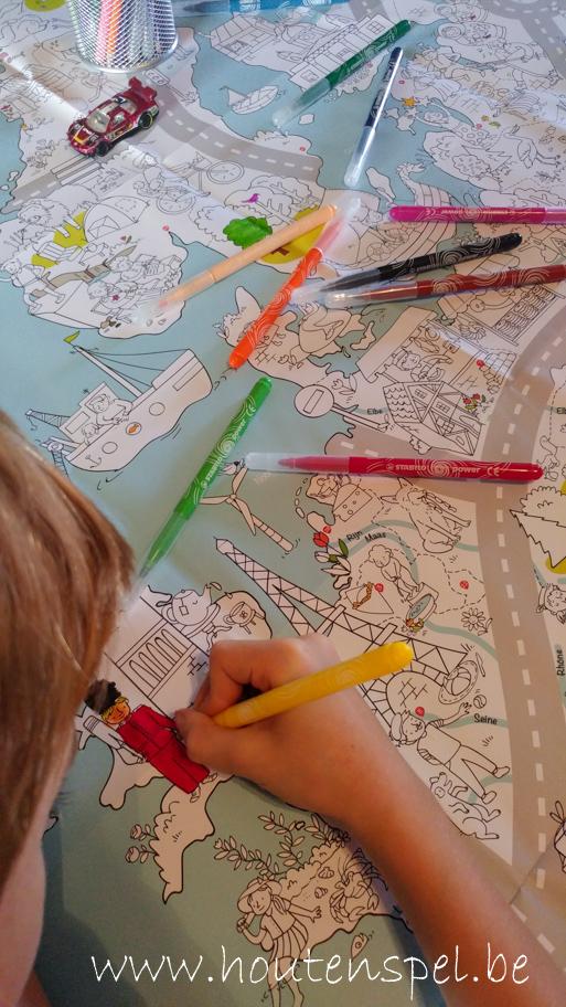 Kleurplaten Europa.Europa Ontdekken Dankzij Een Grote Kleurplaat Gewoon Wij